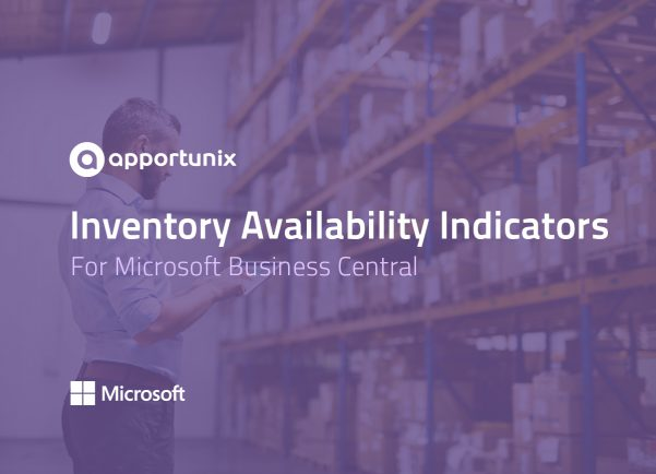 App for Business Central - Inventory Availability Indicators