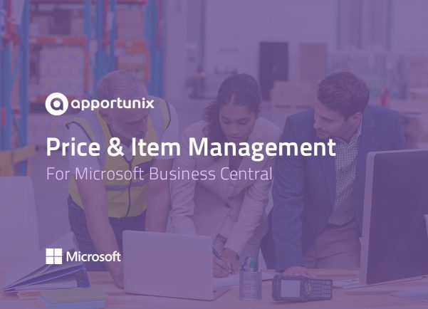 App Business Central - Price and Item Management