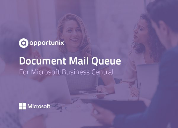 App Document Mail Queue for Business Central