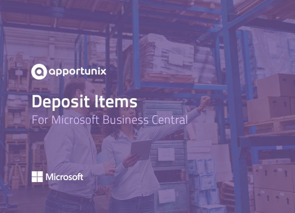App for Business Central - Deposit Items