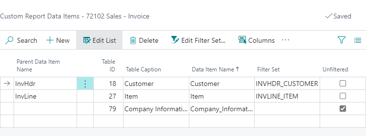 Add Custom Data Items in Document Creator