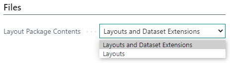 Layout Packages in Document Creator