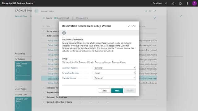 App Reservation Rescheduler - Setup Wizard